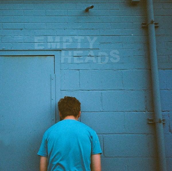 "Image of EMPTY HEADS ""s/t"" 7"""