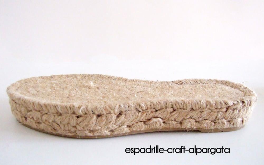 Image of espadrille soles M9 - Platform - 3cm