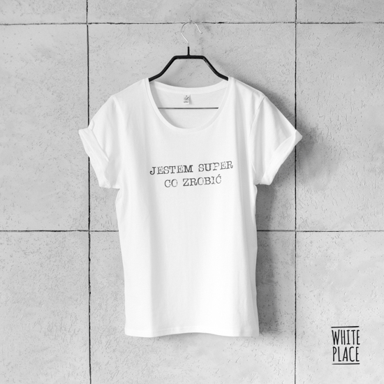 Image of koszulka / jestem super, co zrobić