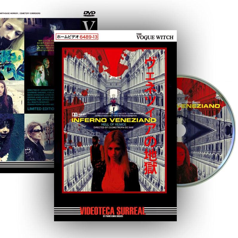 Image of Inferno Veneziano DVD (Hardbox Design B)