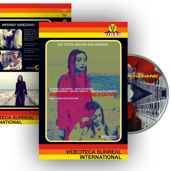 Image of Inferno Veneziano DVD (Hardbox Design C, Vintage)