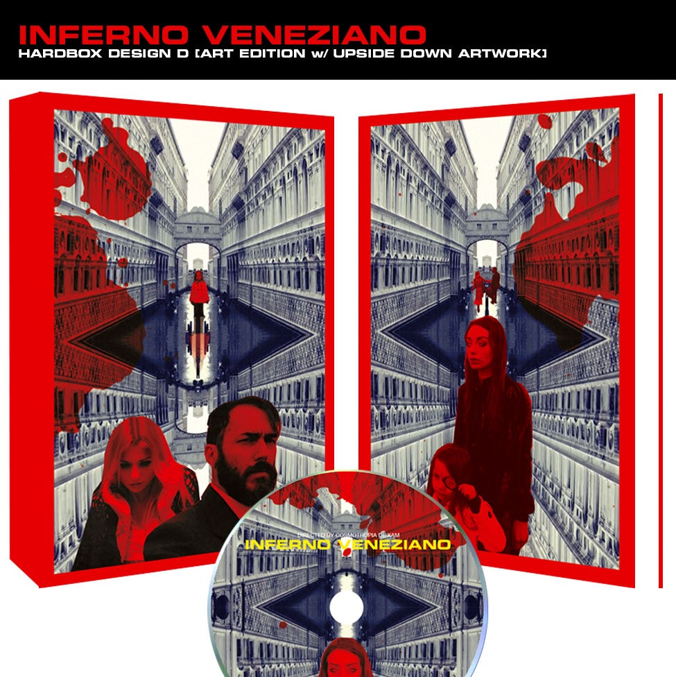 Image of Inferno Veneziano DVD (Hardbox Design D, Art Edition)