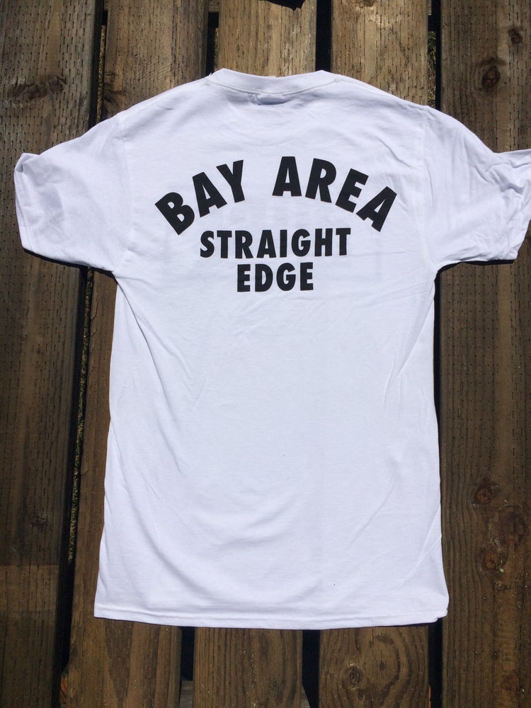 "Image of Pure - ""Bay Area Straight Edge"" White Shirt"