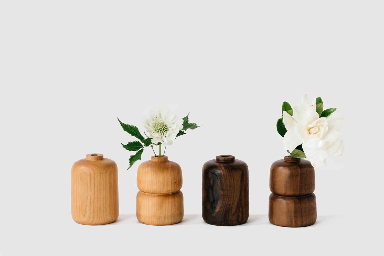 Image of Double Cherry Bud Vase