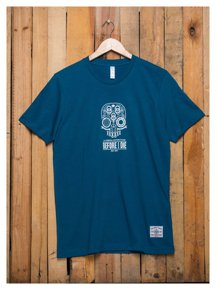 Image of MECHANICAL SKULL TEE