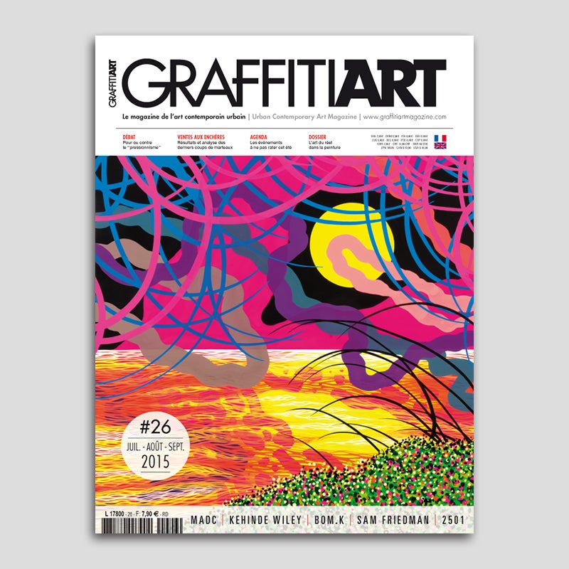 Image of Sam Friedman - Graffiti Art #26