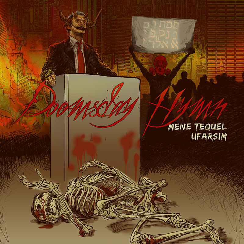 "Image of DOOMSDAY HYMN - ""MENE TEQUEL UFARSIM"" CD"
