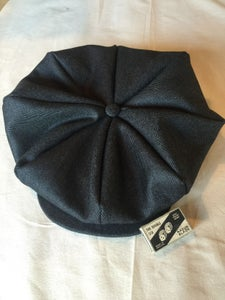 0d2fdfc4adc Peaky Blinder eight pleater cap. Image of Peaky Blinder eight pleater cap
