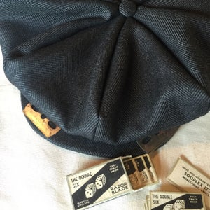 Image of Peaky Blinder eight pleater cap