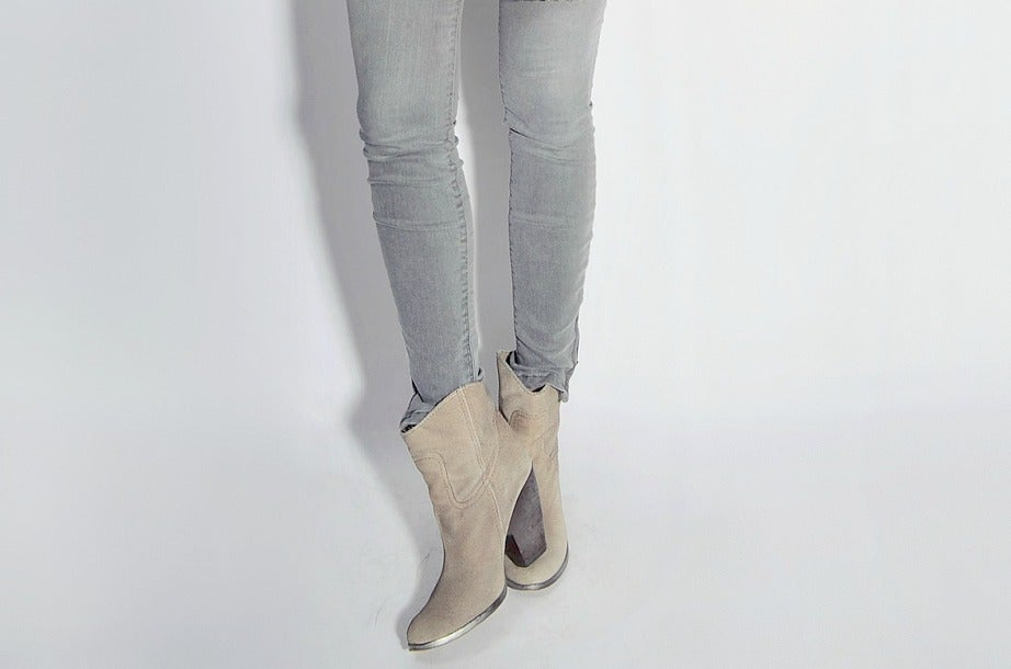 Image of Suede Ankle Boots
