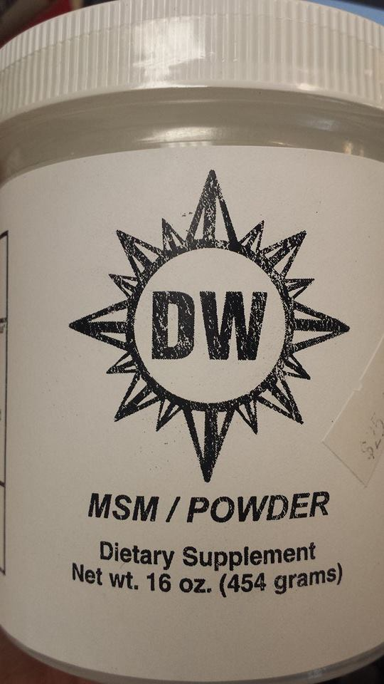 Image of DW MSM POWDER