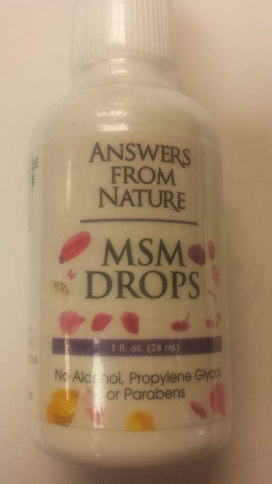 Image of MSM DROPS