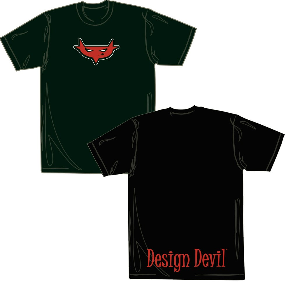Image of Design Devil T-Shirt (Black)