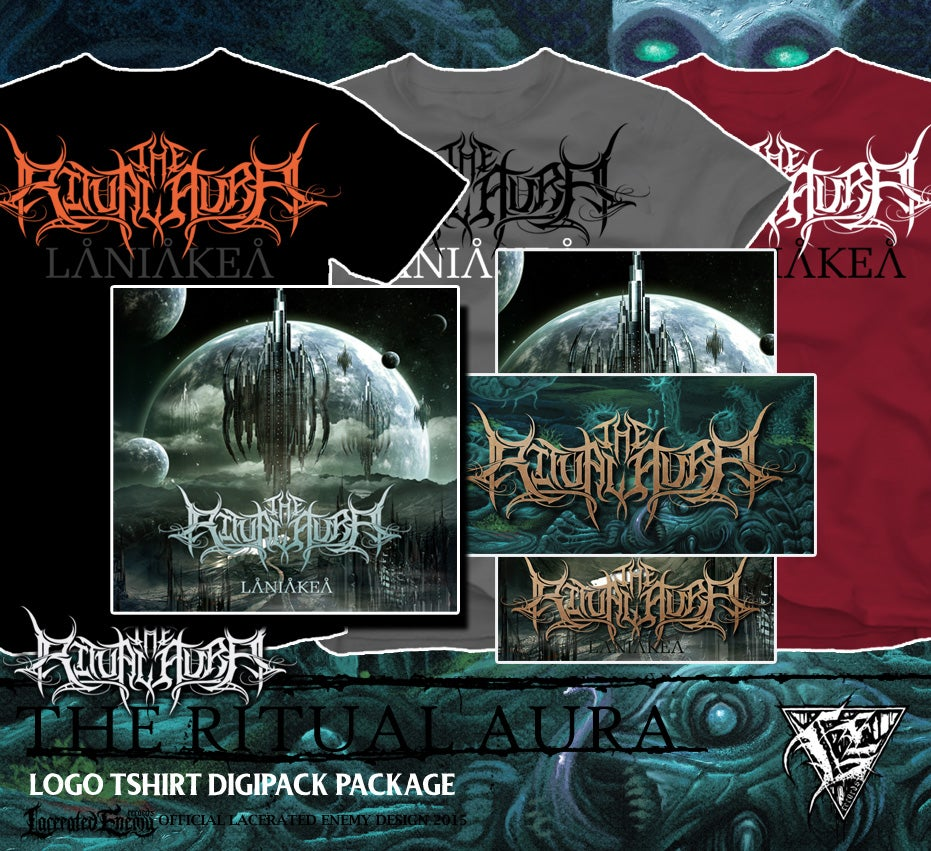 THE RITUAL AURA - logo shirt package