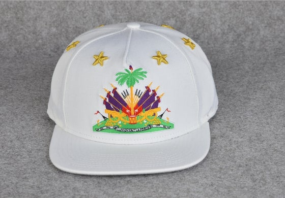 "Image of *WHITE* SnapsByCharles ""1804"" Snapback"