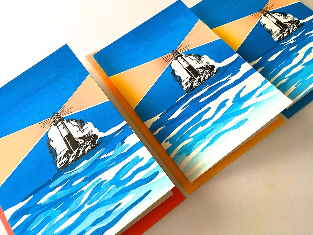 Image of Lighthouse (set of 3 cards)