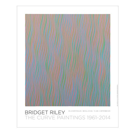 Image of Bridget Riley – The Curve Paintings 1961-2014: Andante Poster