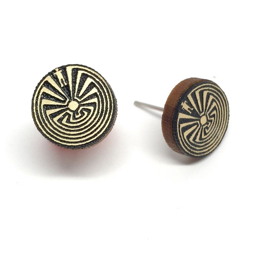 Image of Man in the Maze Studs