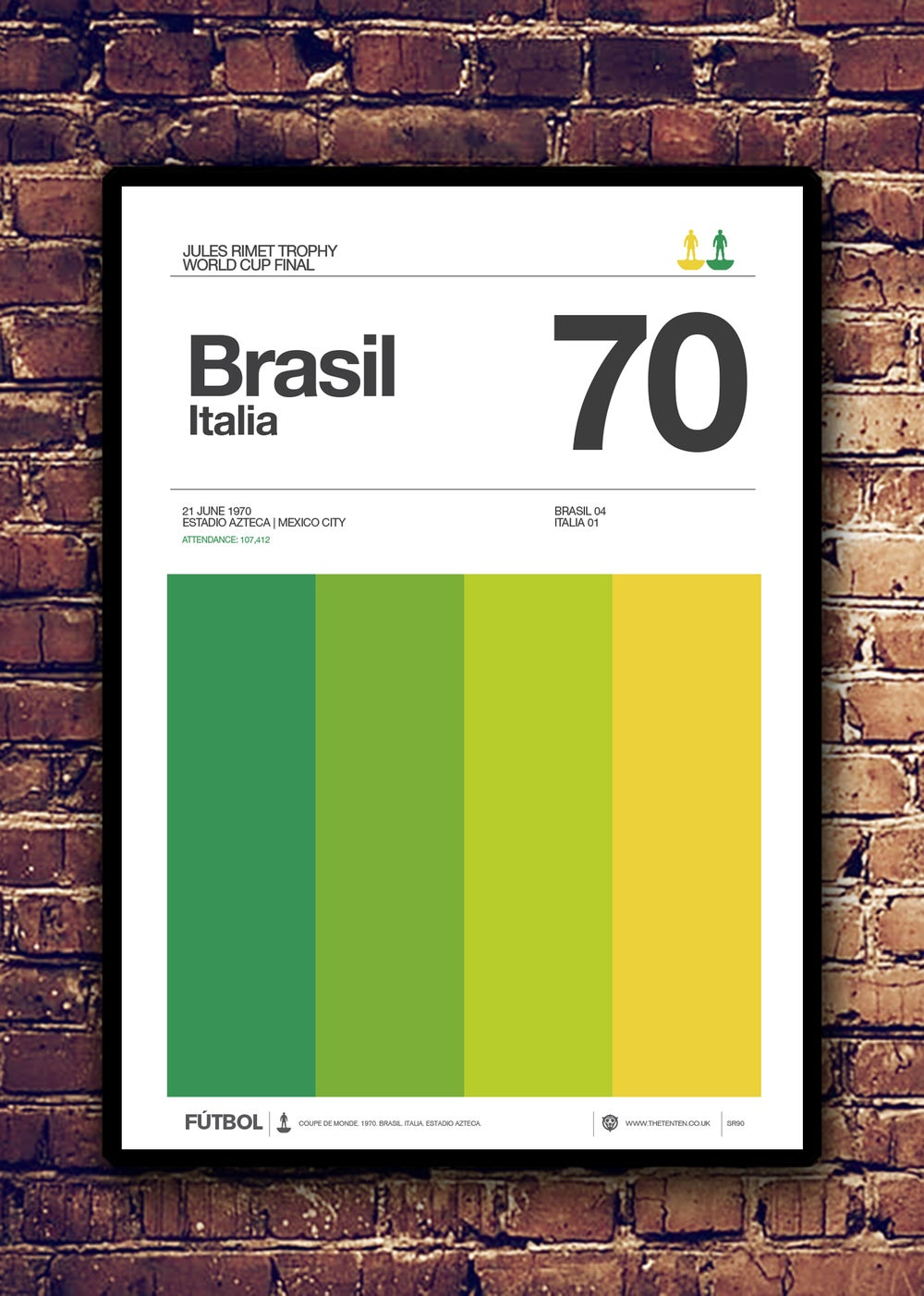 Image of BRASIL. ITALIA - 1970
