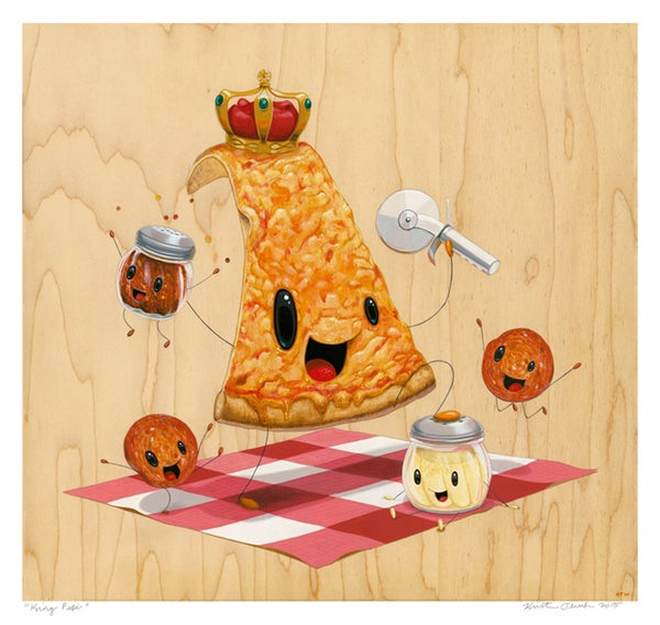 "Image of ""King Pepi"" giclee print"