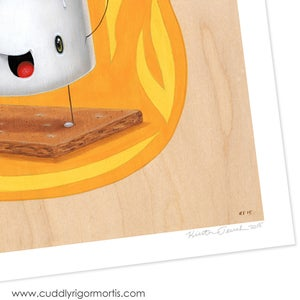 "Image of ""Molten Mallow"" giclee print"