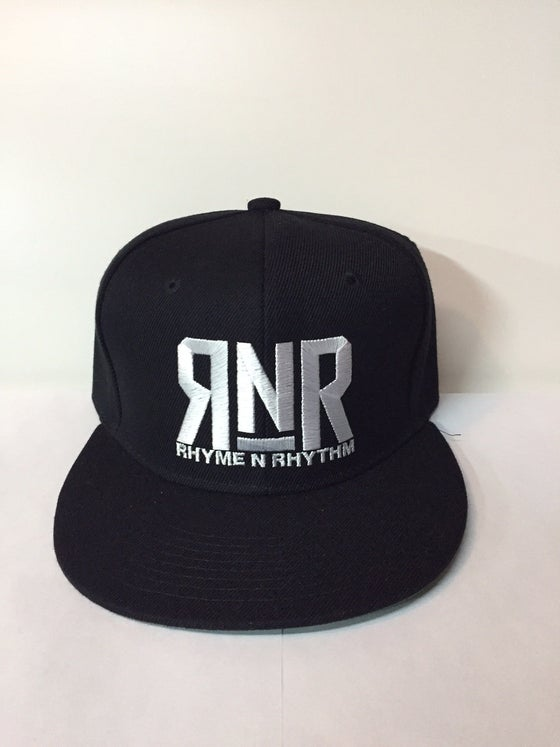 Image of RNR - Snapback - ALL BLACK RAIDER EDITION