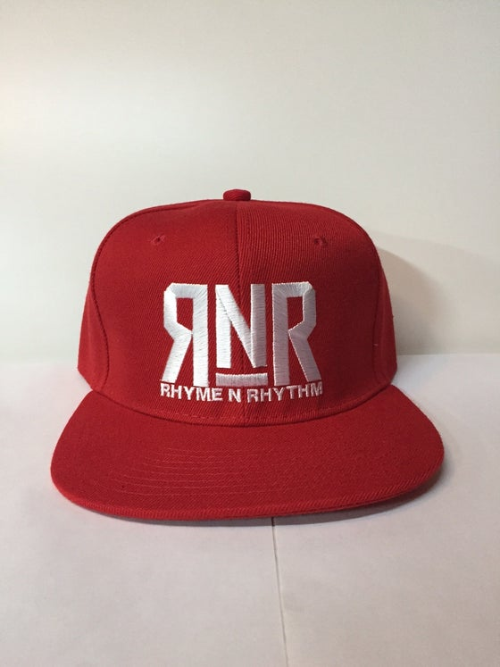 Image of RNR - Snapback - RED AND WHITE