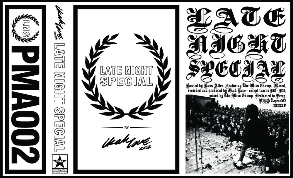 "Image of ""Late Night Special by Ikah Love"" Cassette"