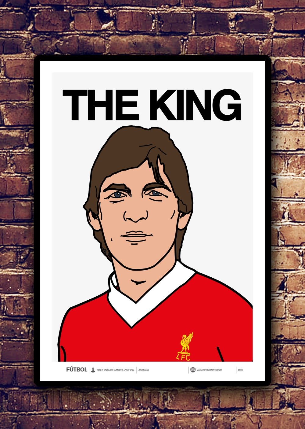 Image of THE KING - KENNY DALGLISH