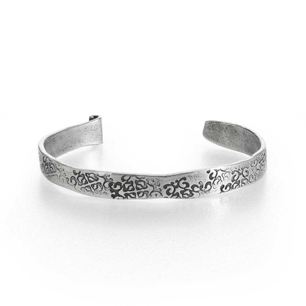 Image of Rumi quote cuff . sterling silver cuff . Cuff-2