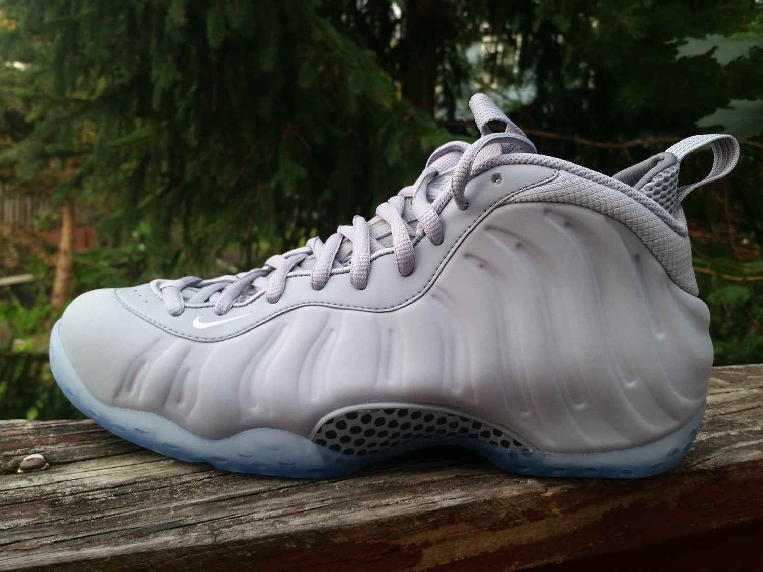 """Image of Nike Air Foamposite one """"GREY SUEDE"""""""