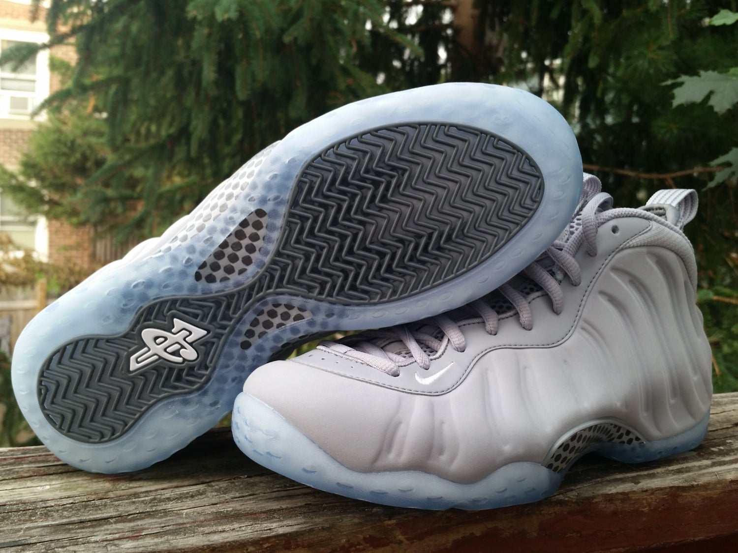 """a3f4551f577 Image of Nike Air Foamposite one """"GREY SUEDE"""