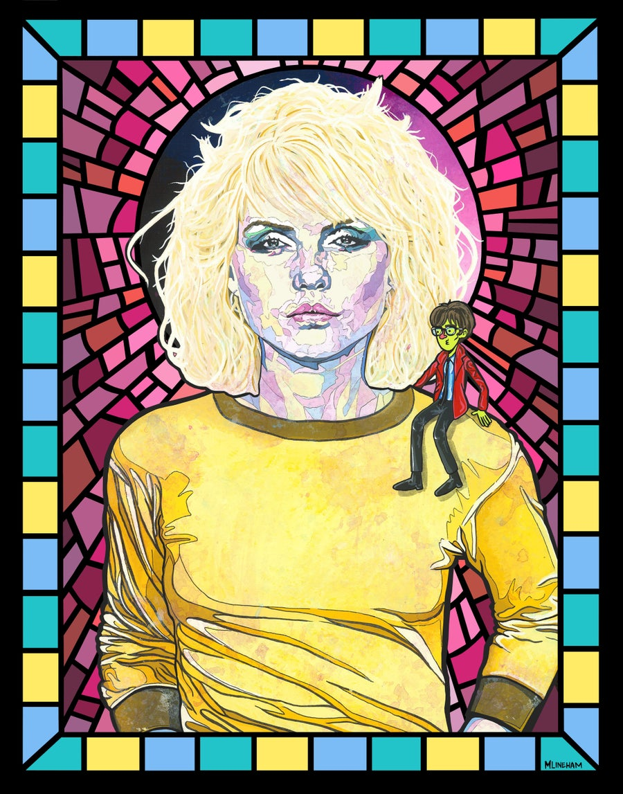 Image of Saint Debbie Harry (Blondie)