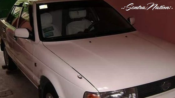 Image of (B13) 91-94 Sentra 4dr Smoked Window Wind/Rain Deflector