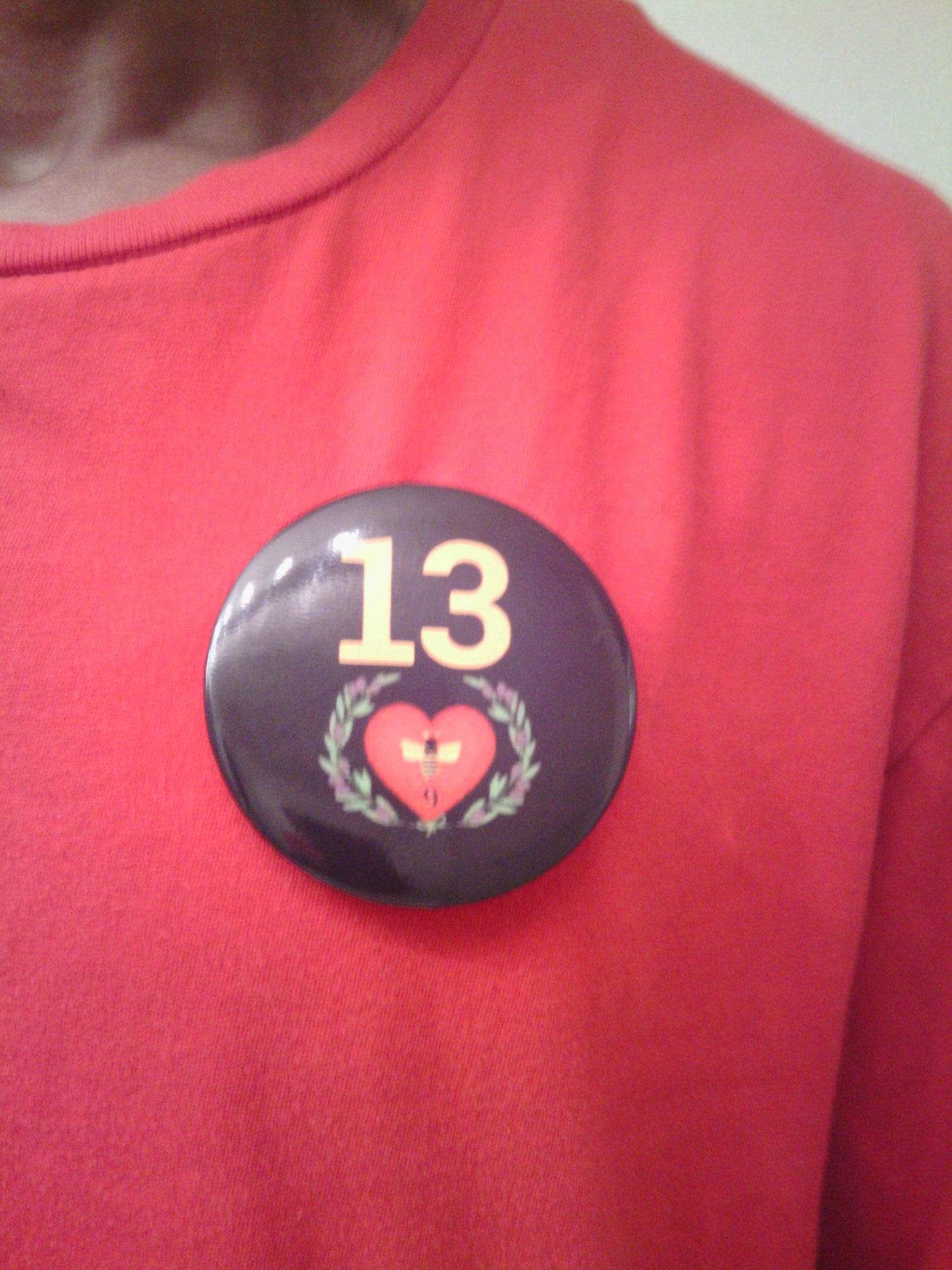Image of TLC 13 Love Community Private Logo Magnetic Button