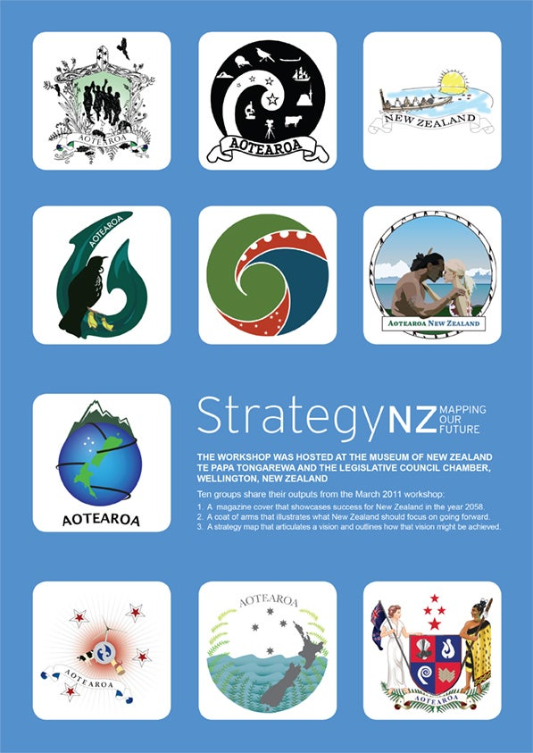 Image of 2011 StrategyNZ: Mapping Our Future workshop booklet