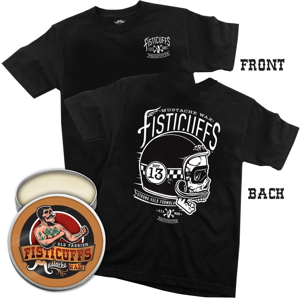Image of Fisticuffs™ Wax Strong Hold Tee/Wax Combo