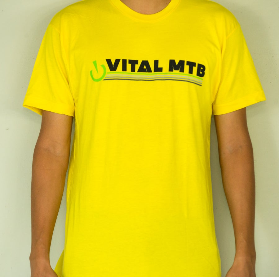 Image of Vital MTB Retro T-Shirt, Sunshine