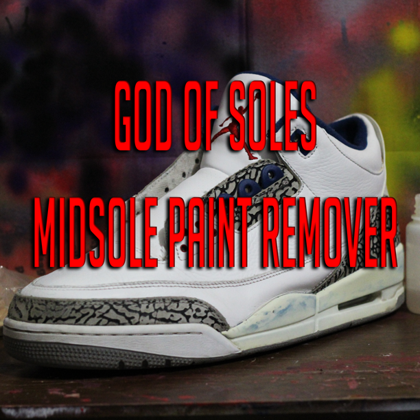 Image of Midsole Paint Remover
