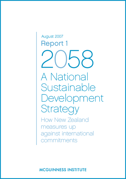 Image of Report 1 - A National Sustainable Development Strategy