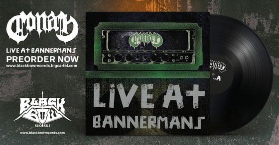 "Image of CONAN - LIVE AT BANNERMANS - 12"" VINYL (UK / EUROPE / AUSTRALIA)"