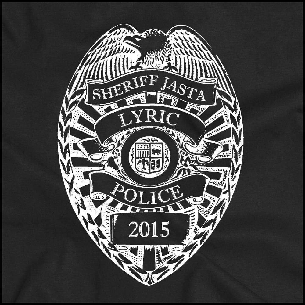 "LYRIC POLICE ""ZOMBIE COP"" SHIRT"