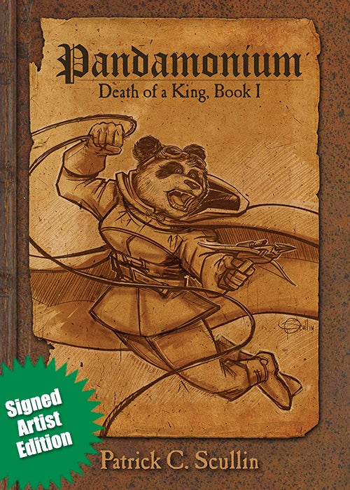 Image of Pandamonium - Book 1 - Hardcover Artist Edition