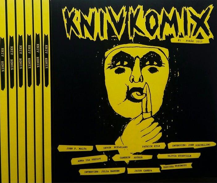 Image of Kniv Komix #2