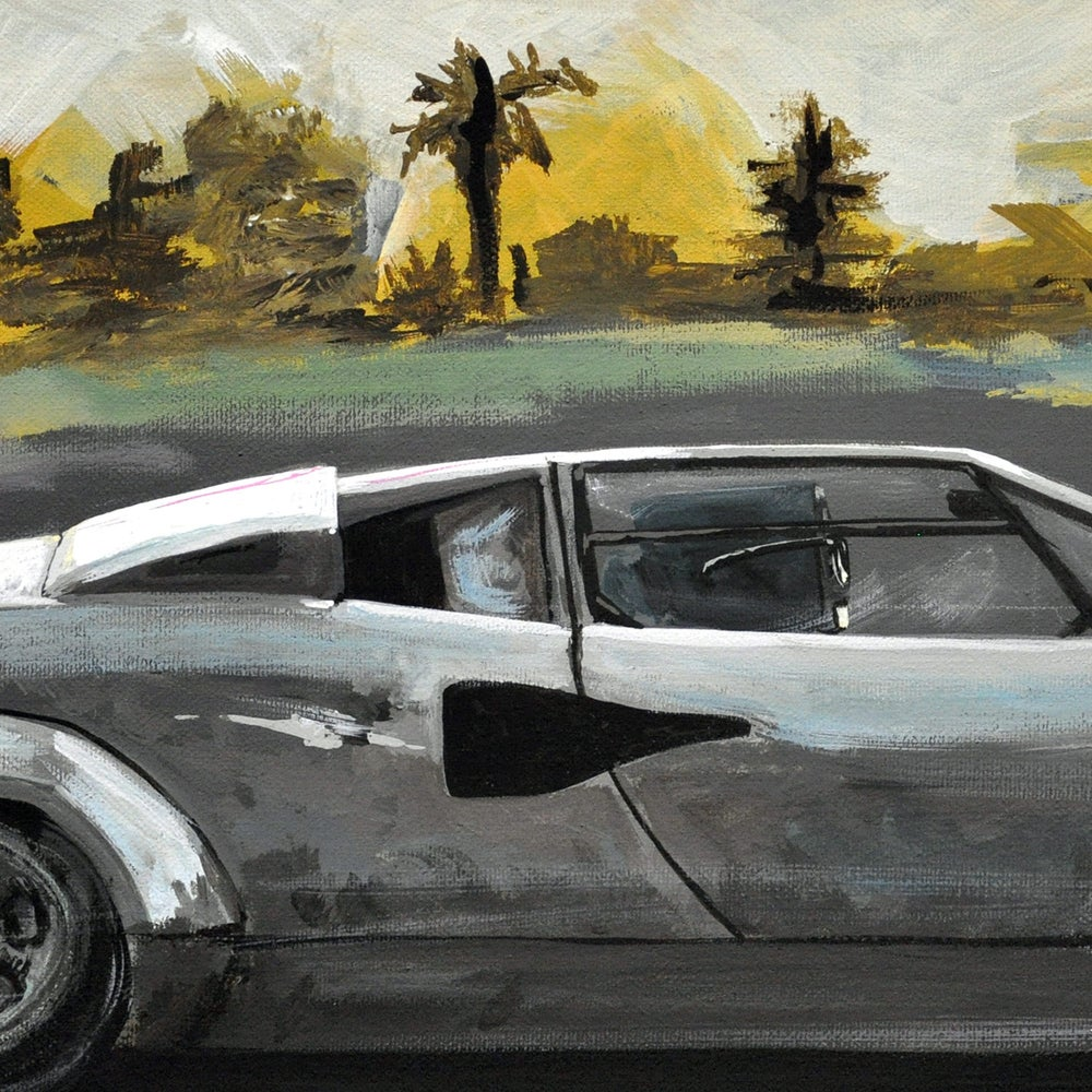 Image of Countach Print