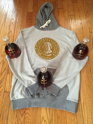 Image of Dionysus Inside Out Knit Hoodie