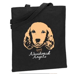 "Image of AACSR ""Bailey"" Tote Bag- Black"