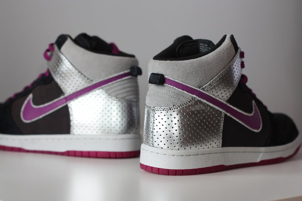 Image of NIKE DUNK HIGH PLUM/ANTHRACITE 317891-051