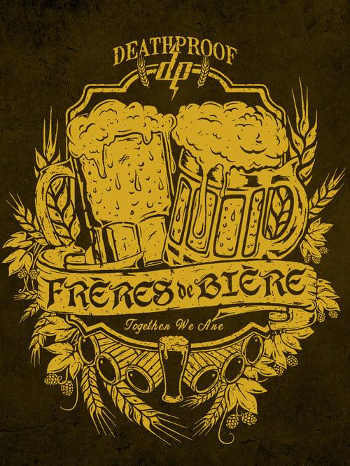 Image of Frères de Bière / T-shirt Brun Homme