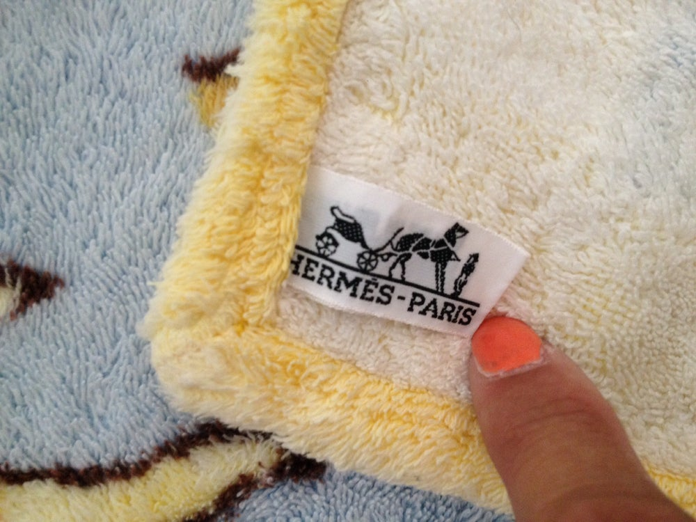 Image of serviette de plage HERMÈS